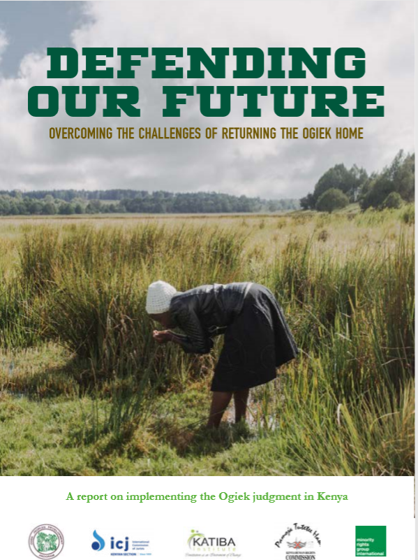 Defending Our Future: Overcoming the Challenges of Returning the Ogiek Home