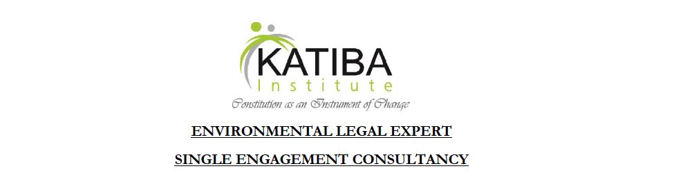 Consultancy: Environmental Legal Expert