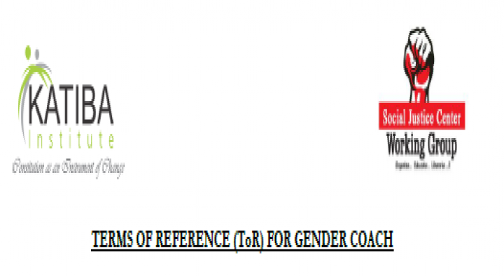 Terms of Reference for Gender Coach