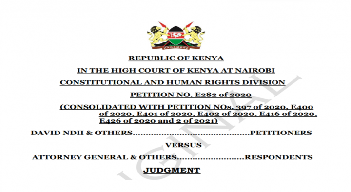 BBI Consolidated Judgment