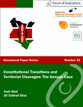 Constitutional Transitions and Territorial Cleavages