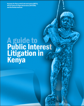 Guide Public Interest Litigation in Kenya