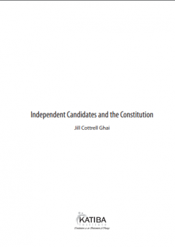 Independent Candidates and the Constitution